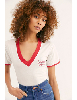 American Woman Joey Tee by Camp Collection