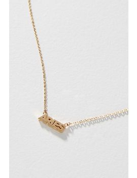 Zodiac 14 K Gold Plated Necklace by Sister Squared