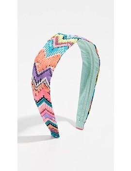 neon-ikat-pring-headband by namjosh