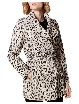 Leopard Print Faux Fur Coat by Bloomingdales