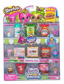 Shopkins New Families In Collectible Mini Pack   16 Piece by Shopkins