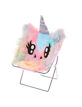 claires-girls-pastel-rainbow-unicorn-phone-holder by claires