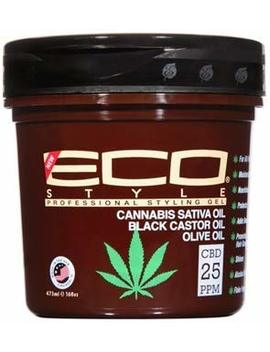 Eco Styler Cannabis Sativa Oil Styling Gel 16oz by Eco Styler