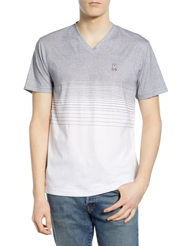 Warrington V Neck T Shirt by Psycho Bunny