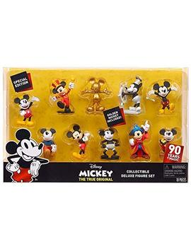 special-edition-90-years-of-magic---disney-mickey-the-true-original-collectible-deluxe-figure-set-10-pack---golden-mickey-included! by special-edition