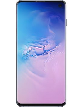Galaxy S10 With 128 Gb Memory Cell Phone (Unlocked)   Prism Blue by Samsung