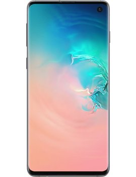 Galaxy S10 With 128 Gb Memory Cell Phone (Unlocked) Prism   White by Samsung