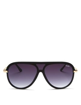 Women's Quay X Jlo Empire Aviator Sunglasses, 57mm by Quay