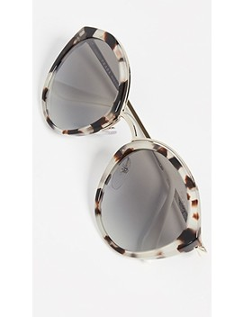 Pr 18 Us Oval Sunglasses by Prada
