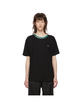 Black Elsom Face T Shirt by Acne Studios