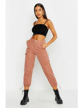 Toggle Hem Cargo Trouser by Boohoo