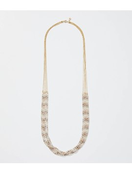 Beaded Chain Multistrand Necklace by Loft