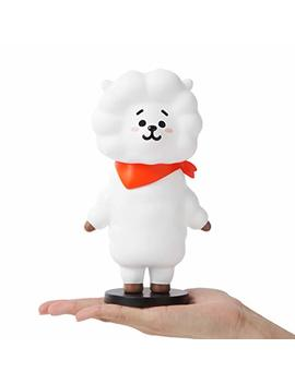 "Bt21 Official Merchandise By Line Friends   Rj Character Action Figure Toy Collectible Doll 7.5"" Inch, White by Bt21"