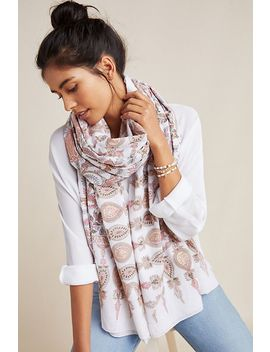 Field Of Florals Scarf by Anthropologie