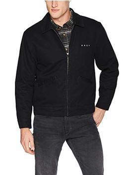 Obey Men's Dillinger Zip Trucker Jacket by Obey