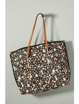 Racquel Canvas Tote by Anthropologie