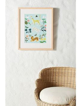 Wild Cats Wall Art by Artfully Walls
