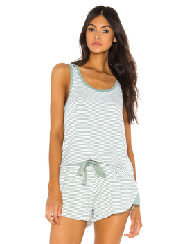 Ruched Pj Tank by Splendid