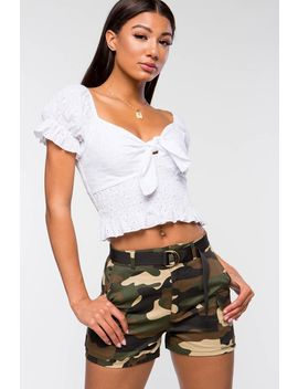 Boot Camp Camo Cargo Short by A'gaci