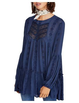 Kiss Kiss Lace Inset Tunic by Free People