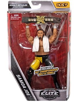 Wwe Elite Collection Samoa Joe Exclusive Action Figure (With Nxt Championship) by Wwe