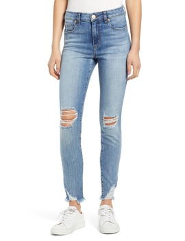 Emma Ripped High Waist Skinny Jeans by Sts Blue
