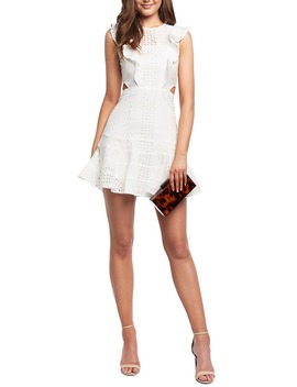 Melanie Lace Minidress by Bardot