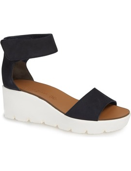Victoria Wedge Platform Sandal by Paul Green