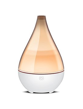 Inno Gear 2019 Vase Shaped Essential Oil Diffuser, Elegant Transparent Cover Cool Mist Humidifier Ultrasonic Aromatherapy Diffusers With Unique Breathing Lights Waterless Auto Off For Home Yoga Office by Inno Gear