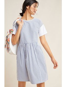 Sunday Striped Dress by Anthropologie