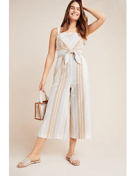 Savannah Striped Jumpsuit by Anthropologie