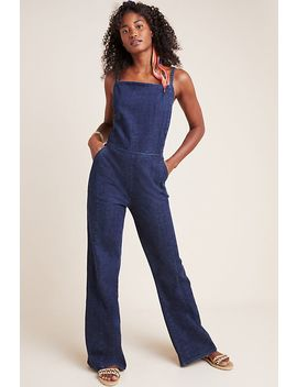 Pilcro Cypress Denim Jumpsuit by Pilcro And The Letterpress