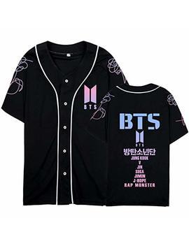Dolpind Kpop Bts Shirt Love Yourself Baseball Jersey Jimin Suga V Jung Kook T Shirt by Dolpind
