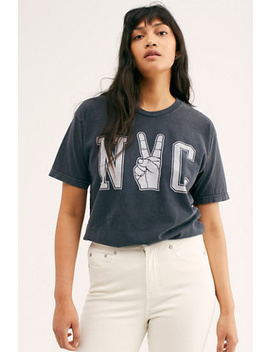 Nyc Peace Tee by Retro Brand