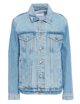 Faded Denim Jacket by Frame