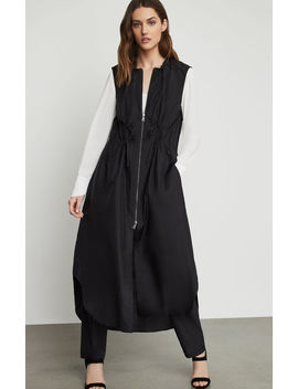 Sleeveless Long Utility Jacket by Bcbgmaxazria