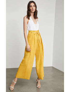 Pleated Lace Up Pant by Bcbgmaxazria