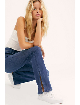 3x1 High Rise Split Seam Bell Jeans by 3x1