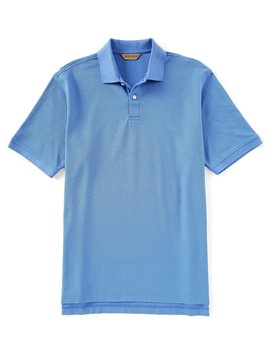 Gold Label Roundtree &Amp; Yorke Perfect Performance Short Sleeve Solid Pique Polo by Roundtree &Amp; Yorke