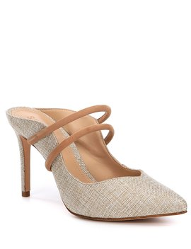 Twila Fabric Dress Mules by Schutz