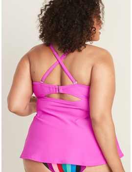 Bandeau Plus Size Tankini Swim Top by Old Navy