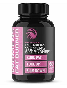 Fat Burner Pills For Women   Thermogenic Supplement, Metabolism Booster, And Appetite Suppressant Designed For Healthier Weight Loss   Increase Energy Levels, Fat Loss, And Muscle Tone   60 Capsules by Nobi Nutrition
