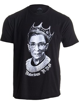 Notorious R.B.G. Funny Progressive, Liberal Ruth Bader Ginsburg Unisex T Shirt by Ann Arbor+T Shirt+Co.