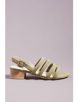Intentionally Blank Slingback Heeled Sandals by Intentionally Blank