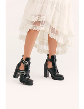 Lets Go Out Platform Boot by Jeffrey Campbell