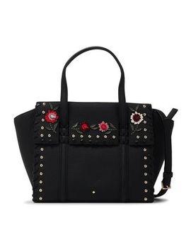 Madison Daniels Studded Floral Appliquéd Shoulder Bag by Kate Spade New York