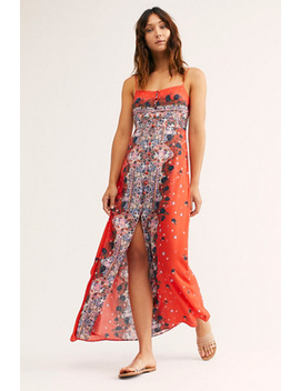 Morning Song Printed Maxi Slip by Intimately