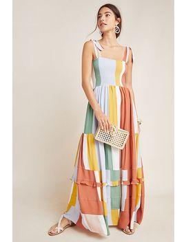Sunny Striped Maxi Dress by Dolan Left Coast