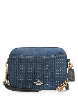 Quilted & Studded Camera Crossbody by Coach