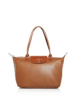 Le Foulonné Leather Shoulder Bag   100 Percents Exclusive by Longchamp